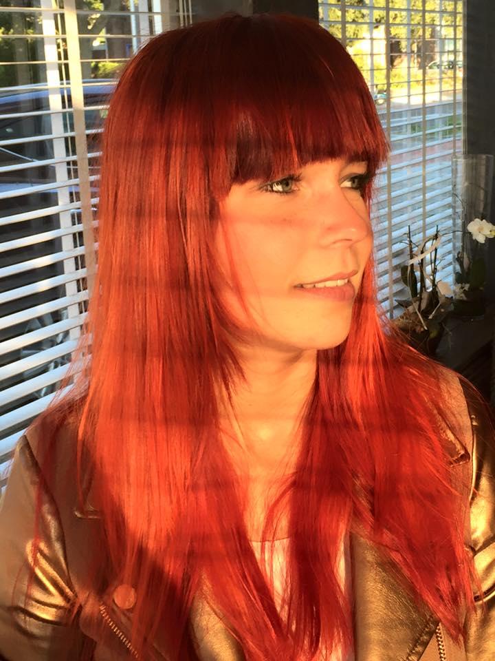Deze prachtige nieuwe kleur rood van Goldwell nu ook bij Kapper Gory in Sittard