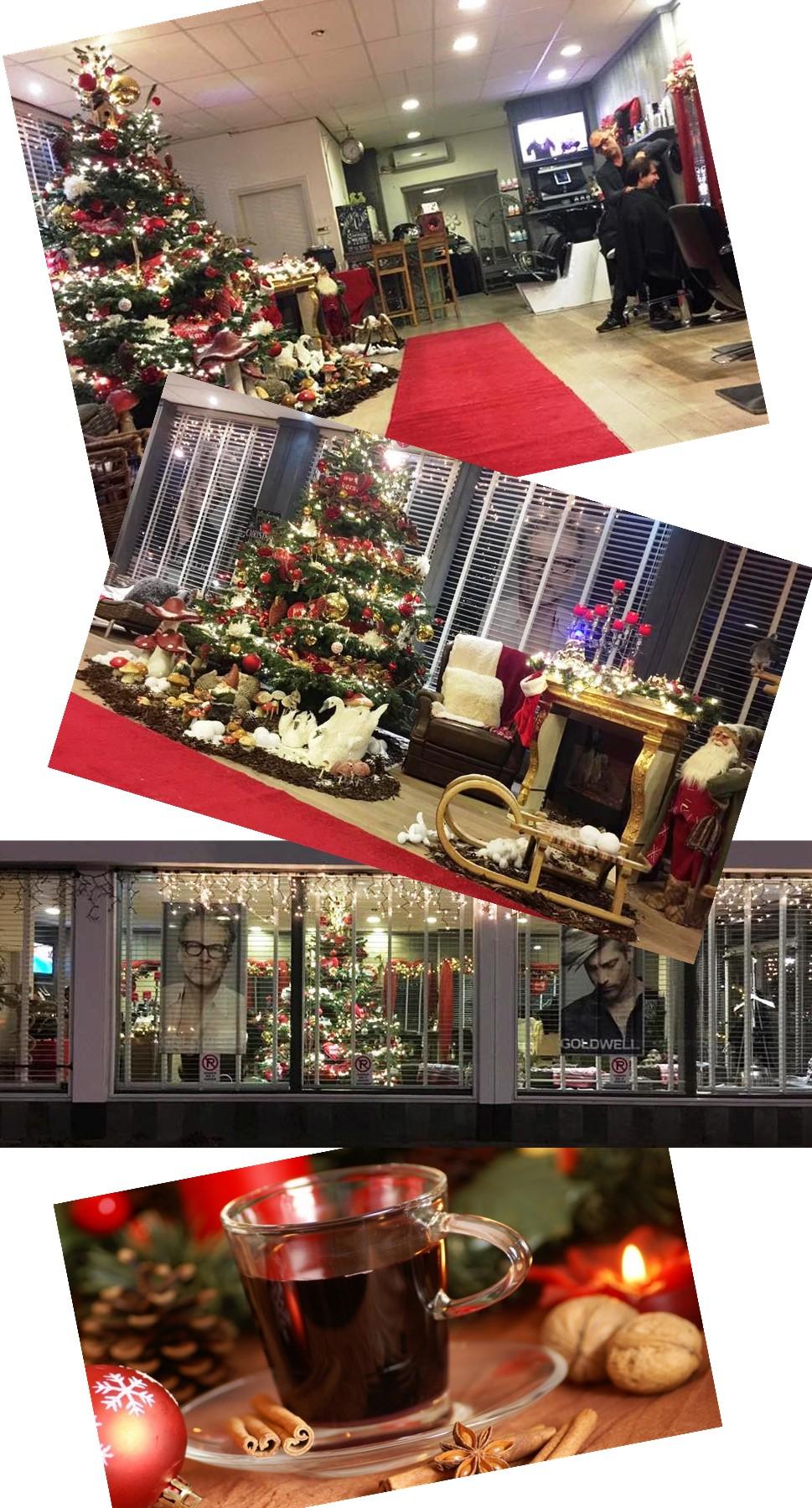 Kom bij kapper Gory helemaal in de Kerststemming
